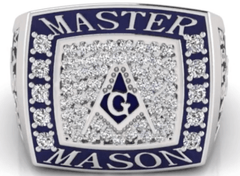 Image of 2018 Master Mason Ring