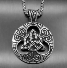 Triquetra Knot Necklace
