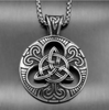 Image of Triquetra Knot Necklace