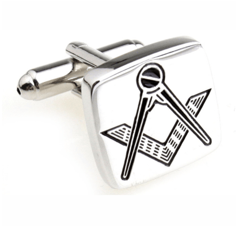 Luxury Freemasonry Stainless Steel Cufflinks