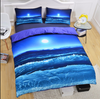 Image of Moon & Ocean 3D Print Bedding Set