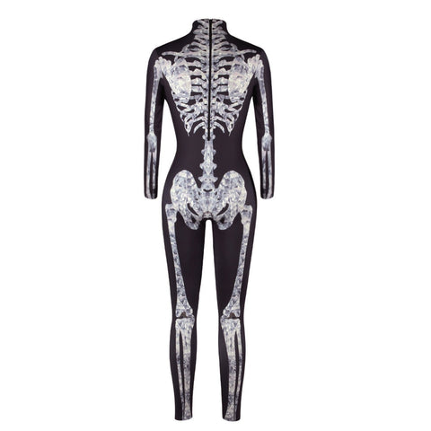 Skeleton Halloween Jumpsuit