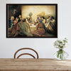 Image of The Lord and The Last Supper Canvas Poster