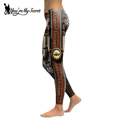 Steampunk Piston Gear Leggings