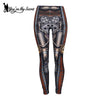Image of Steampunk Piston Gear Leggings