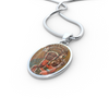 Image of Madonna of Czestochowa Necklace