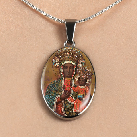 Madonna of Czestochowa Necklace
