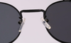 Image of Retro Metal Frame Steampunk Sunglasses