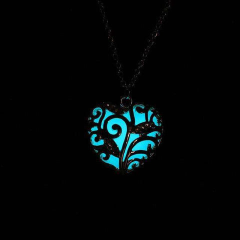 Free Glow in the Heart Necklace/Bracelet