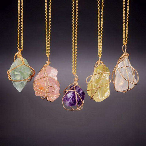 Handcrafted Crystal Necklaces