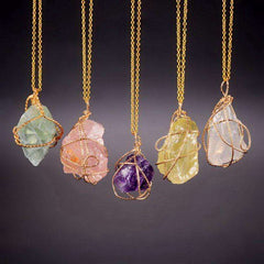 Image of Handcrafted Crystal Necklaces