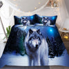 Image of Snow Wolf Bedding Set