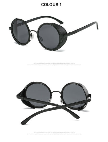 Designer Steampunk Polarized Sunglasses