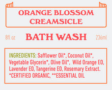 Orange Blossom Creamsicle Bathwash