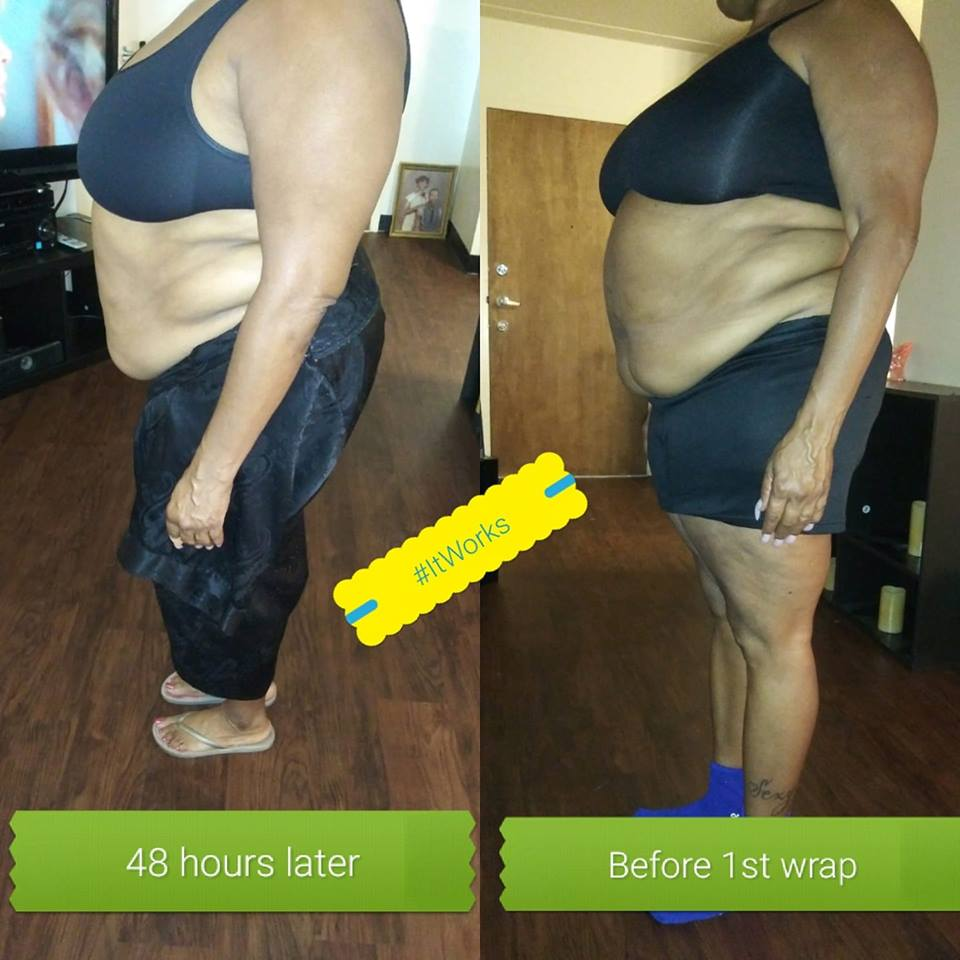 It Works Wrap Review - Before & After