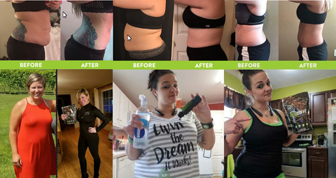 It Works Keto Coffee Before and After