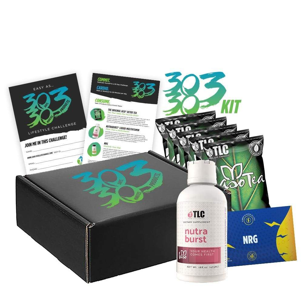 30303 Challenge Kit - All You Need To Transform Your Body In 30 Days - Detox Cafe