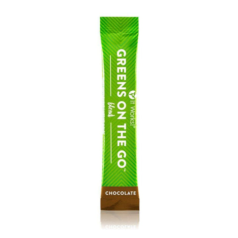 Greens on the Go Chocolate - Alkalize – Balance – Detoxify - Detox Cafe