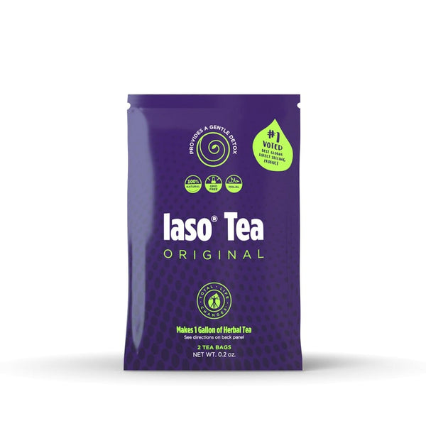 Iaso Tea 28 Day Detox + (1) 7 Day Detox To Share - Detox Cafe