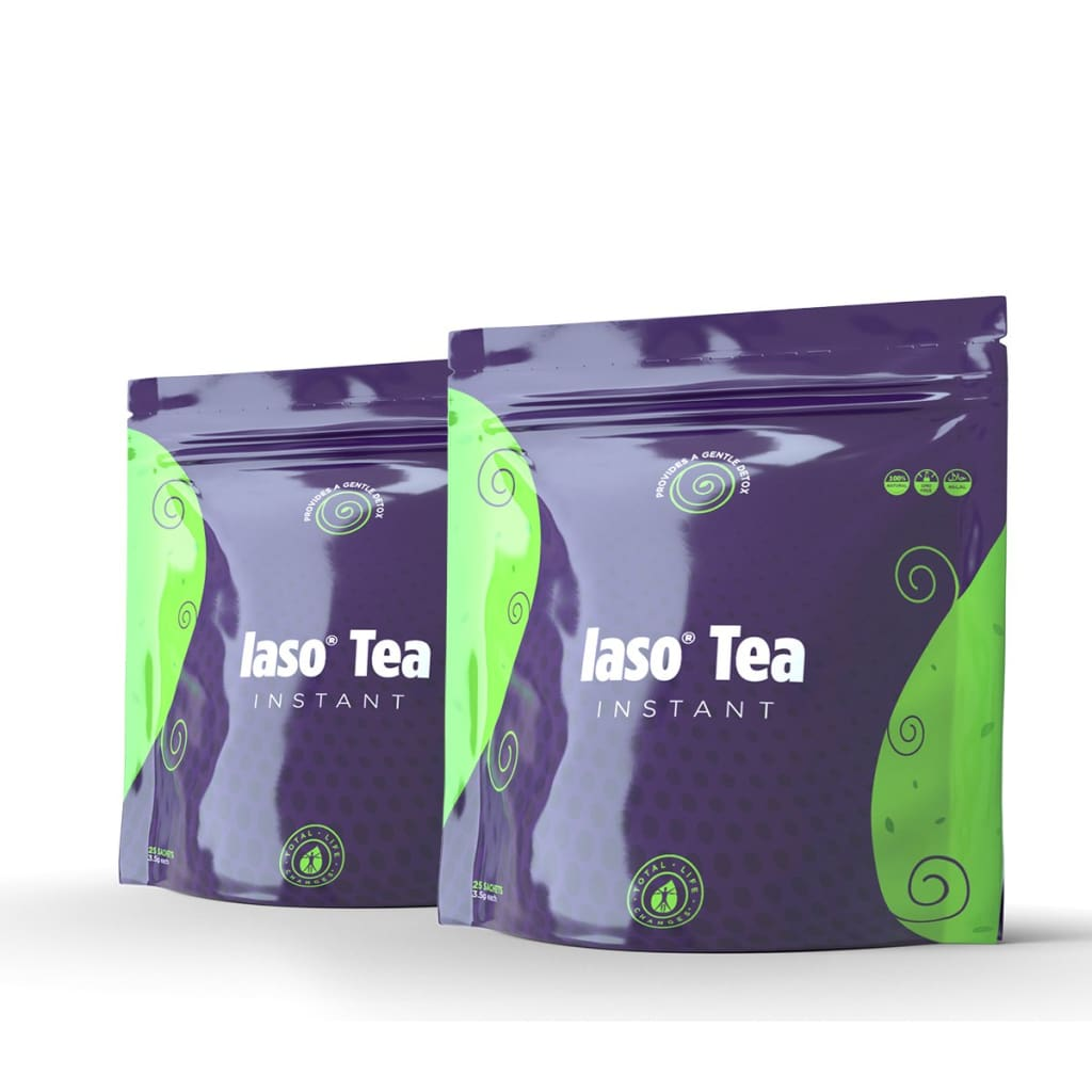Iaso Tea INSTANT - Timeless Convenience with Priceless Results - Detox Cafe