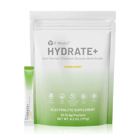 It Works HYDRATE - The Next Level Electrolyte - Detox Cafe