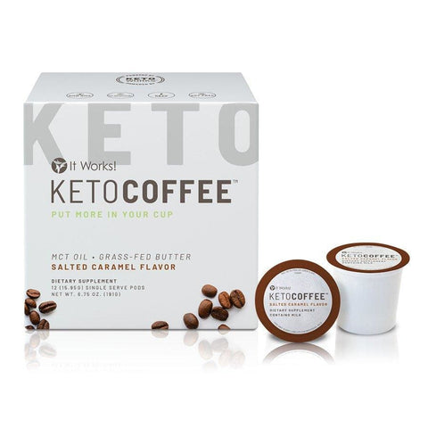 It Works Keto Coffee Pods - Detox Cafe
