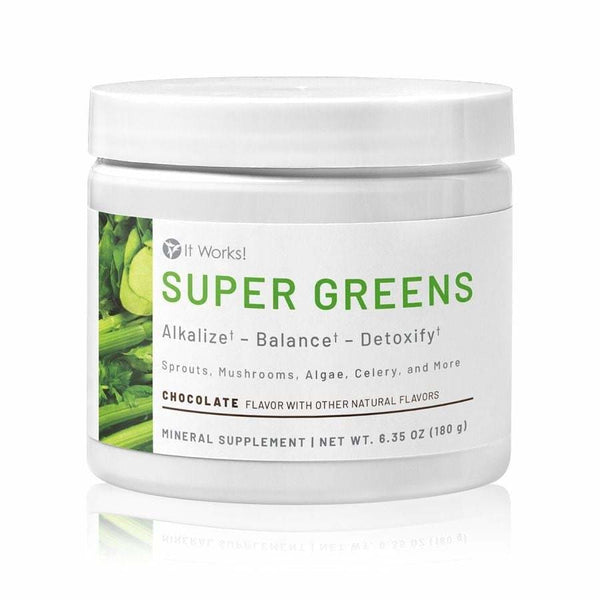 It Works! Super Greens - Chocolate Flavor - Detox Cafe