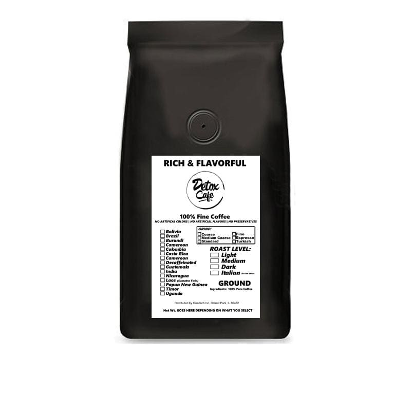 Papa New Guinea Single-Origin Coffee - Detox Cafe