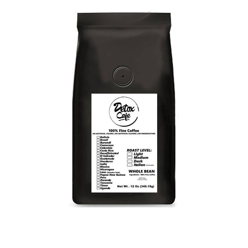 Rwanda Single-Origin Coffee - Detox Cafe
