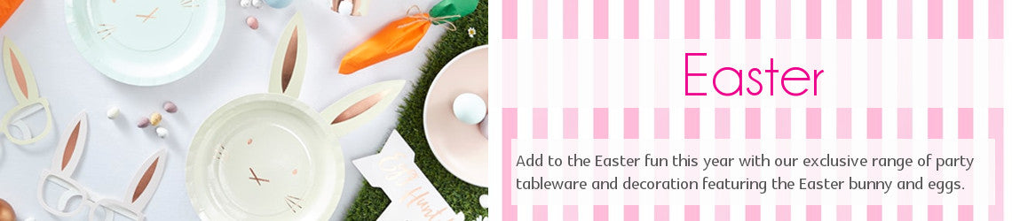 Easter Party Tableware and Decoration | Party Touches