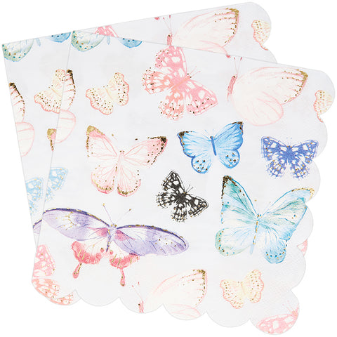 Butterfly Paper Napkins 33cm