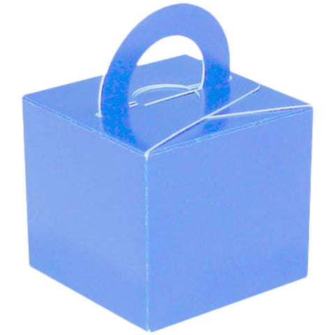 Light Blue Balloon & Mini Gift Box - Oaktree - Party Touches