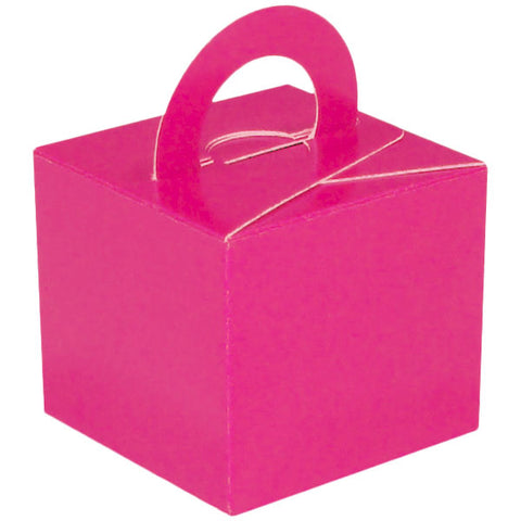 Fuchsia Balloon & Mini Gift Box - Oaktree - Party Touches