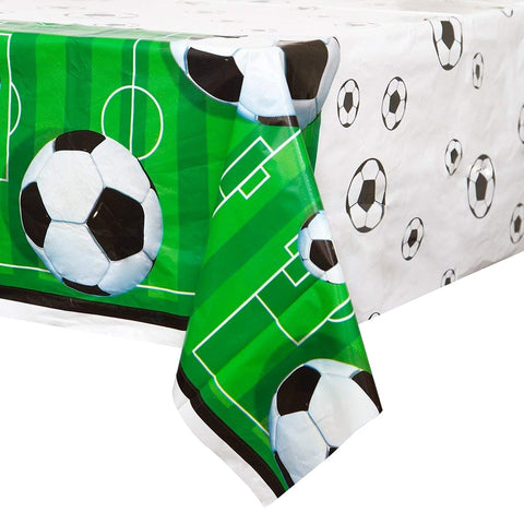 Football Plastic Tablecloth - Unique Party - Party Touches