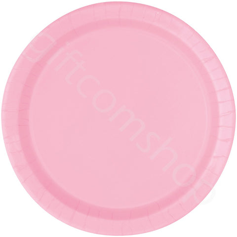 "9"" Baby Pink Party Plates"