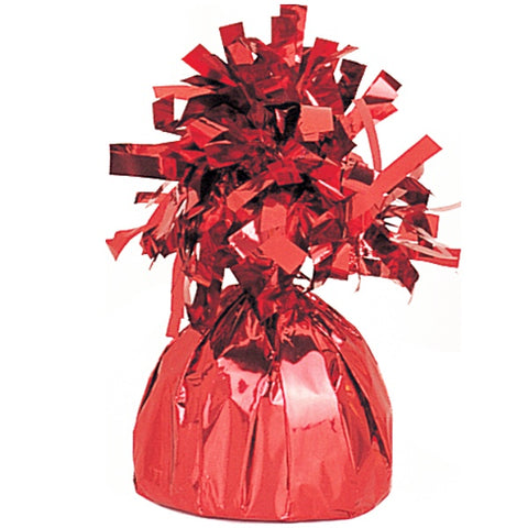 Foil Red Balloon Weight