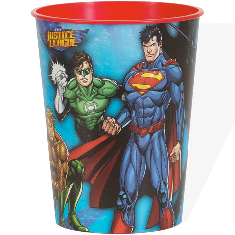 Justice League 16oz Plastic Cup