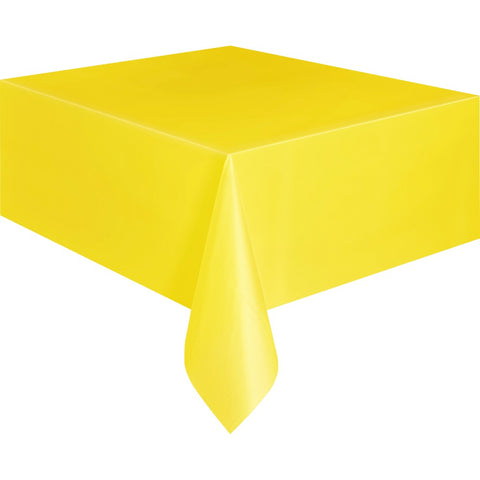 Sunflower Yellow Plastic Table Cover - Unique Party - Party Touches