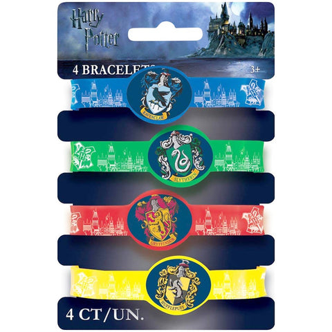 Harry Potter Silicone Bracelets - Unique Party - Party Touches