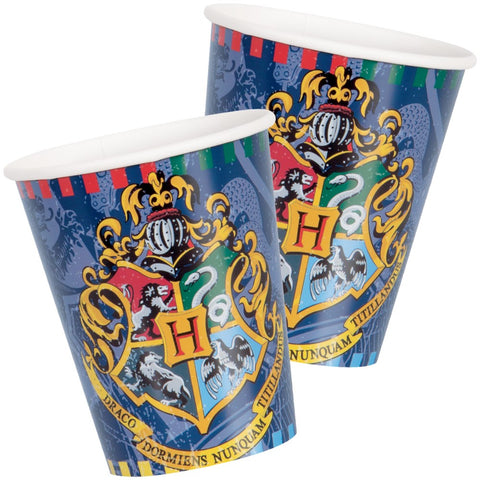 Harry Potter 9oz Paper Cups - Unique Party - Party Touches