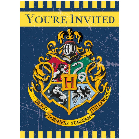 Harry Potter Party Invitation Cards - Unique Party - Party Touches
