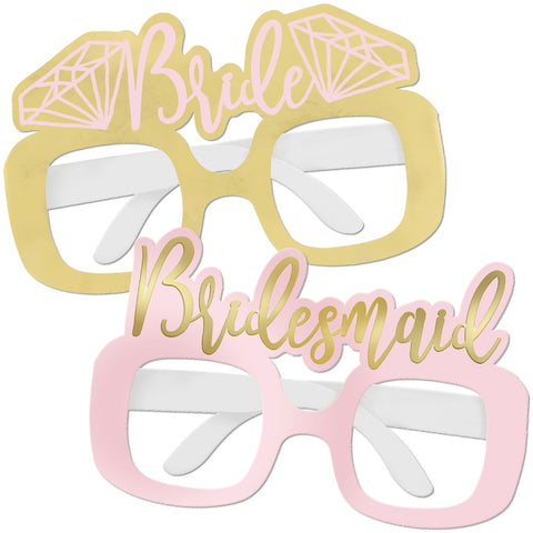 Foil Bachelorette Party Glasses