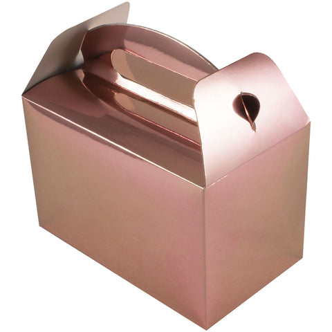 Metallic Rose Gold Party Box - Oaktree - Party Touches