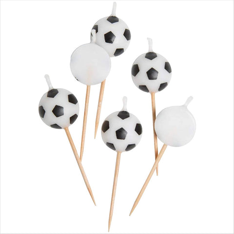 Ball Shaped Football Candles
