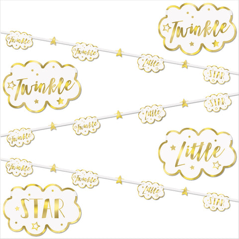 Twinkle Twinkle Little Star Paper Garland