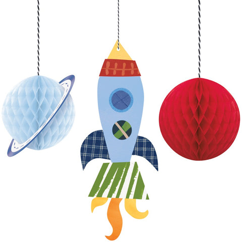 Hanging Outer Space Party Decorations