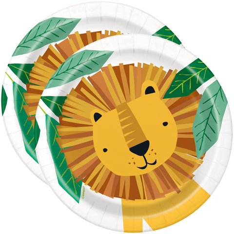 "Animal Safari 7"" Paper Plates"