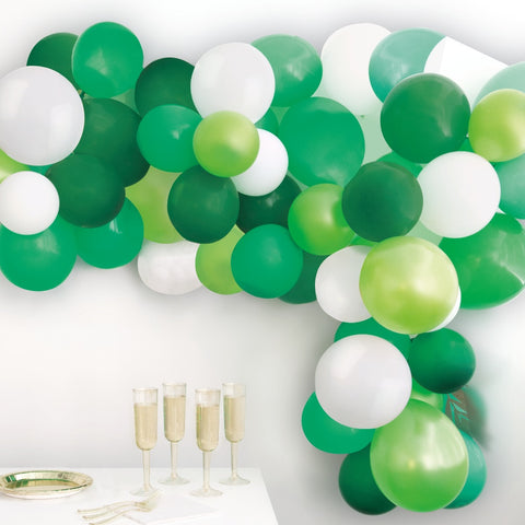 Green Balloon Arch Kit