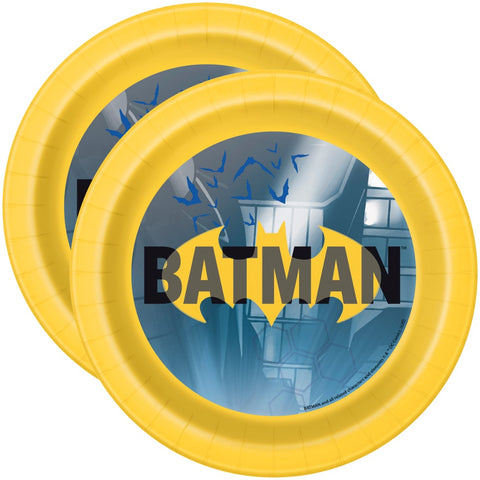 "7"" Batman Party Paper Plates"