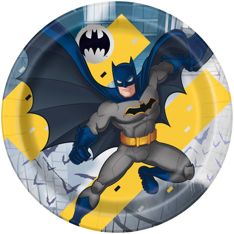 "9"" Batman Party Paper Plates"